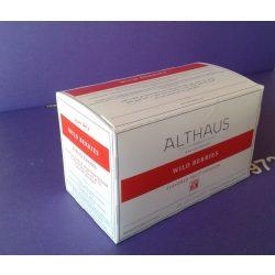 Althaus Wild Berries tea 20 filter/doboz