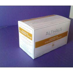 Althaus Rooibush Strawberry Cream tea 20 filter/doboz