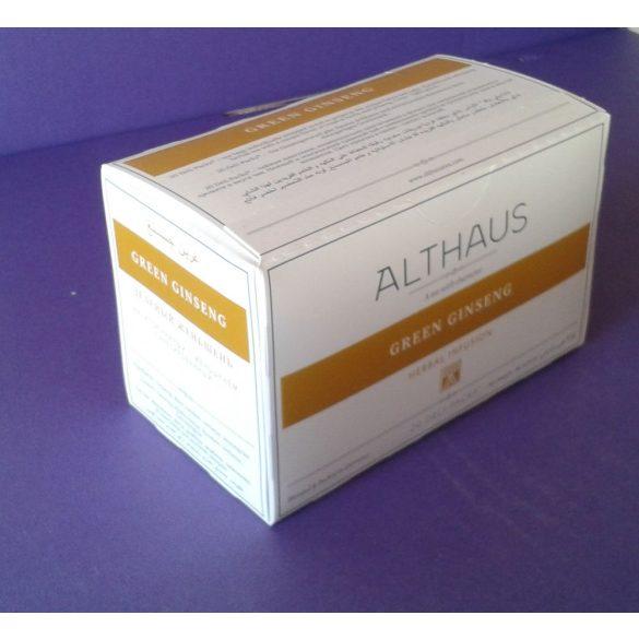 Althaus Green Balance tea 20 filter/doboz