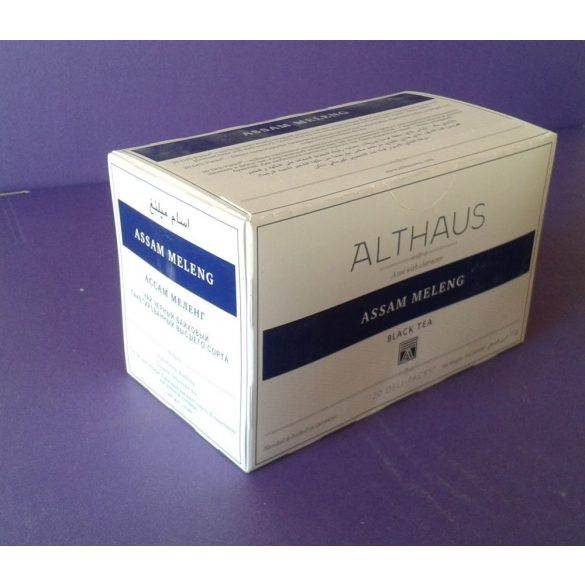 Althaus Assam Meleng tea 20 filter/doboz