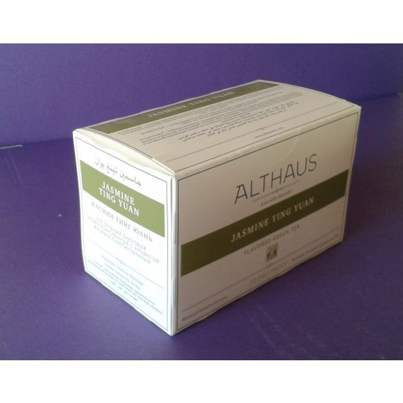 Althaus Jasmine Ting Yuan tea 20 filter/doboz