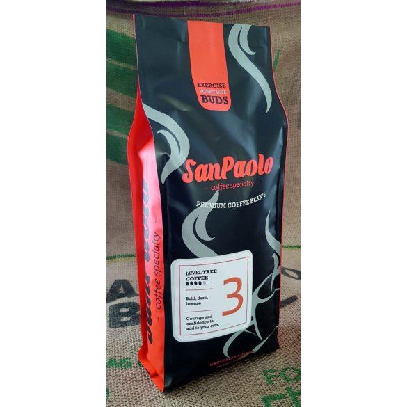 San Paolo Level three szemes kávé 1000g