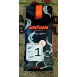 San Paolo Caramel 1000g - karamell ízesítésű szemes kávé