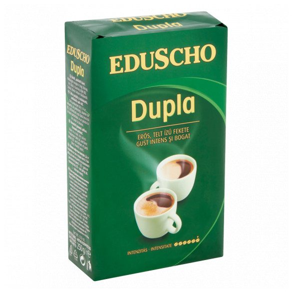 Eduscho Dupla őrölt, pörkölt kávé 250 g