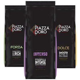 + Piazza D'oro szemes kávék